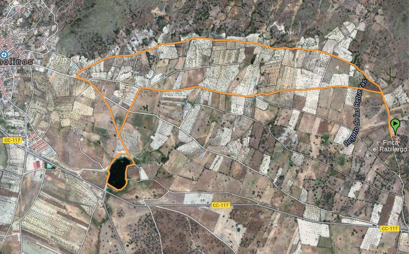 wandeling naar Arroyomolinos