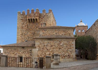 Wandelen in Spanje, wandeling binnenstad Cáceres
