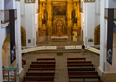 Wandelen in Spanje, Iglesia de San Fransisco Javier