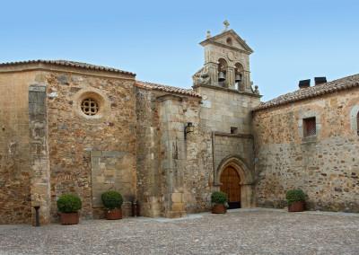 Wandelen in Spanje, historisch centrum Cáceres