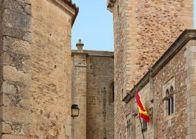 Wandeling in Spanje, Cáceres