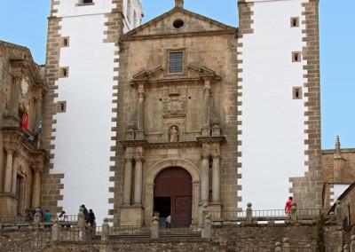 Wandelen in Spanje, Iglesia de San Fransisco, Cáceres